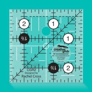 "Creative Grids Non-Slip Turn-a-round 2½ x 2½"""