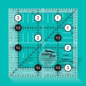 "Creative Grids Non-Slip Turn-a-Round 3½ x 3½"""