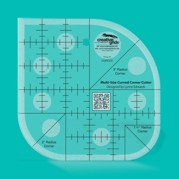 Creative Grids Non-Slip Multi-Size Curved Corner Cutter