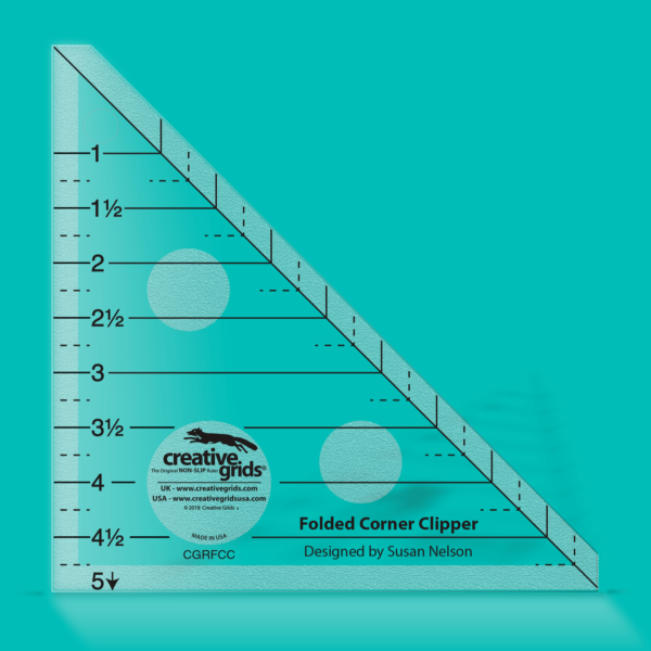 Creative Grids Non Slip Folded Corner Clipper