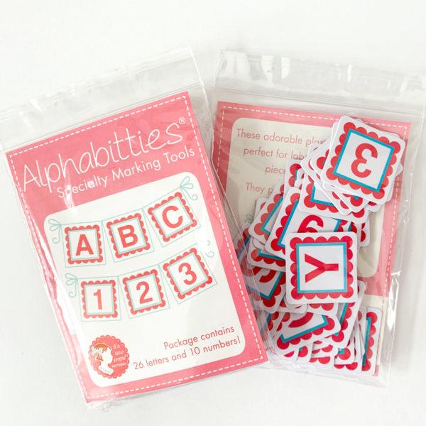 Alphabitties Markierplättchen pink