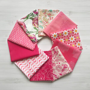 """AGF Fat Quarter-Stoffpaket """"Life is Pink"""""""