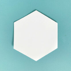 Fabbies Hexagonschablonen 1,5 Inch
