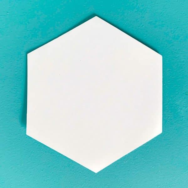 Hexagon-Schablonen EPP