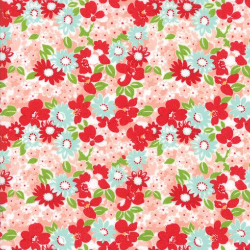 Moda The Good Life Coral Floral
