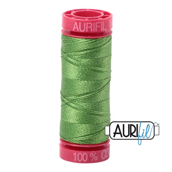 Aurifil 12wt Grass Green