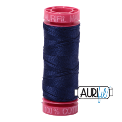 Aurifil 12wt Midnight