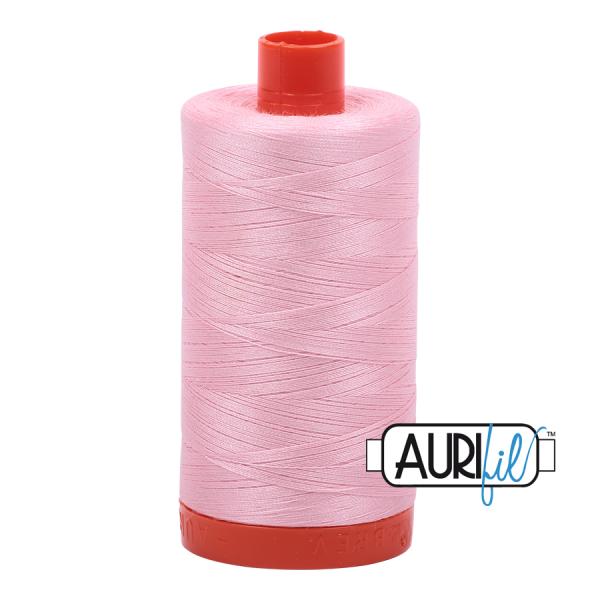 Aurifil 50wt Baby Pink