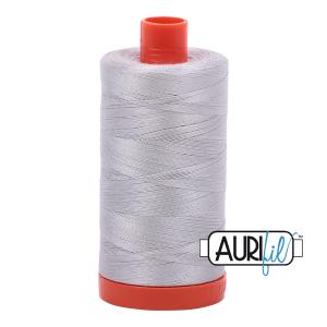 Aurifil 50wt Aluminium