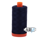 Aurifil 50wt Very Dark Navy