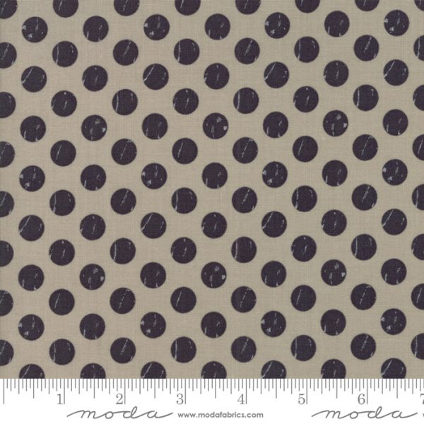 Moda Farmer's Daughter Shabby Dots Taupe