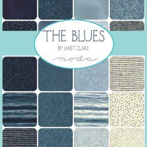 Moda Patchworkstoffe The Blus von Janet Clare