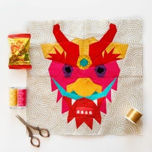 Joe June Mae Chinese Dragon Head