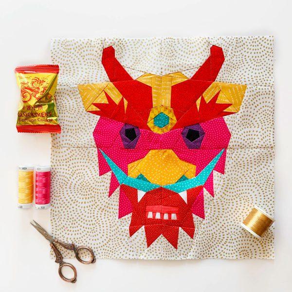 Joe June Mae Chinese Dragon Head
