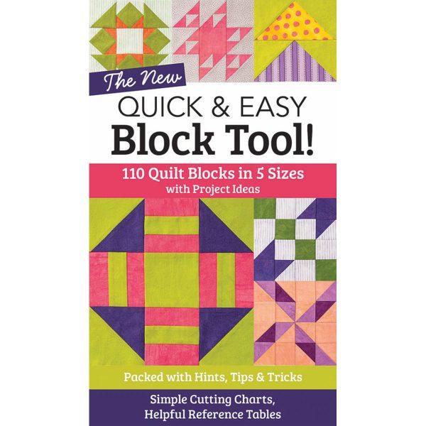 Quick & easy Block Tool mit 110 Quiltblöcken