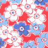 "Moda Back Porch ""Friendship Flowers Country Red"""