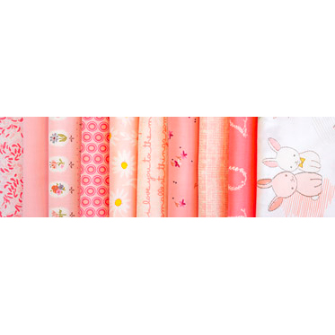 "AGF Fat Quarter-Stoffpaket ""Rose Parfait"""