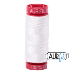 Aurifil 12 Natural White