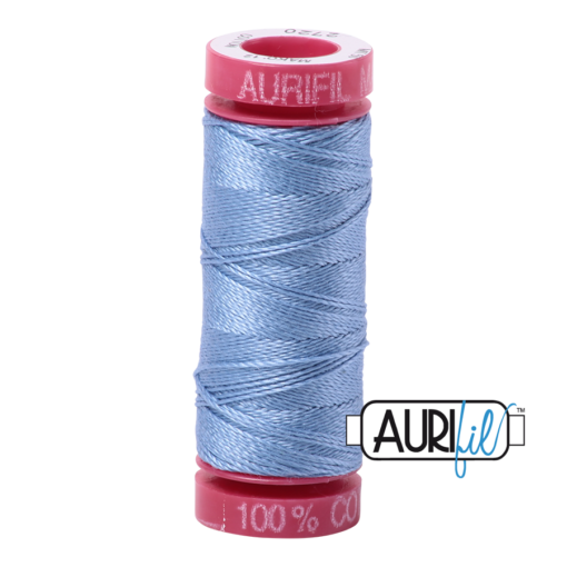 Aurifil 12 Light Delft Blue