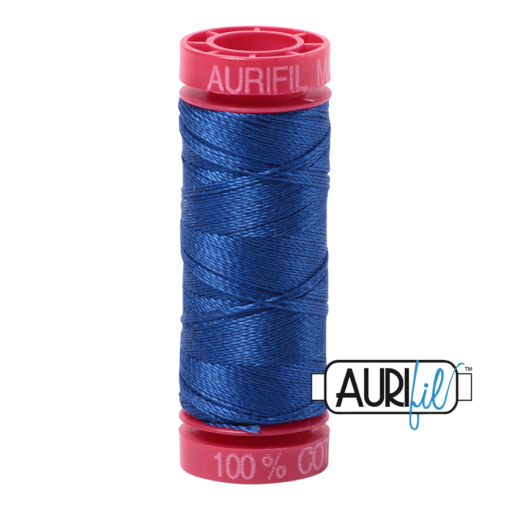 Aurifil 12 Medium Blue