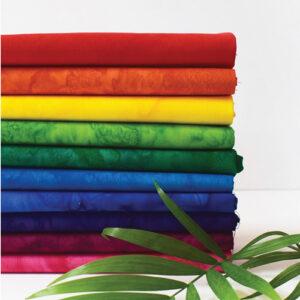 Anthology Fat Quarters-Bundle Batik Rainbow
