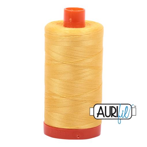 Aurifil 50 1135 Pale Yellow