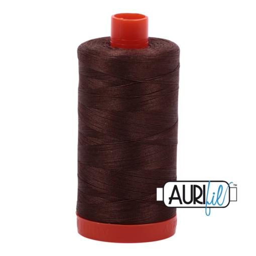 Aurifil 50 Medium Bark