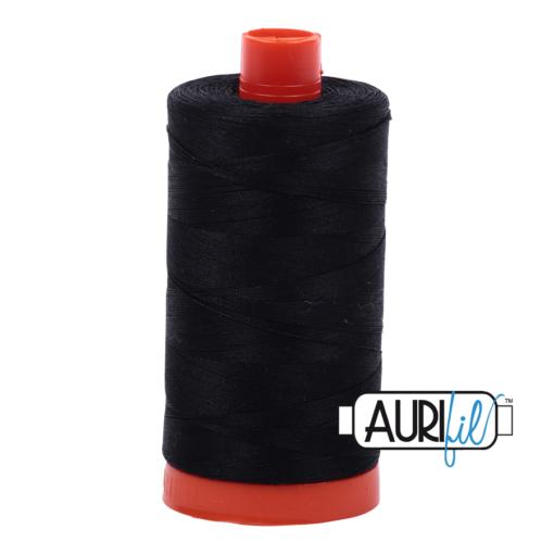Aurifil 50 Black