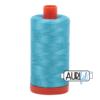 Aurifil 50 5005 Bright Turquoise