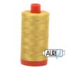 Aurifil 50 Gold Yellow
