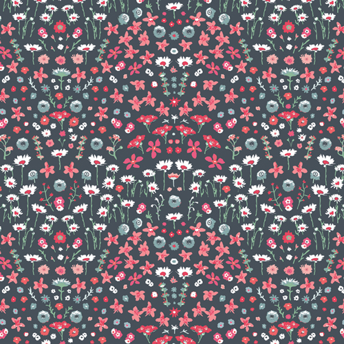 AGF Picturesque 29454 Painted Field Cerise