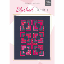 Blushed Denim-Quilt Claudia Itzwerth