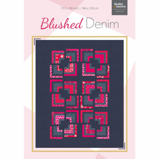 Blushed Denim-Quilt Claudia Itzwerth