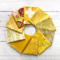 "AGF Fat Quarter-Stoffpaket ""Gold Leaf"""