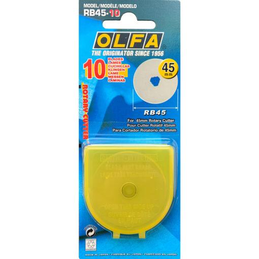 Olfa Ersatzklinge 45 mm 10 Stück
