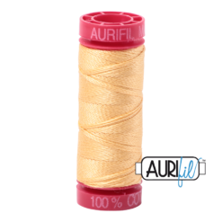 Aurifil 12 Medium Butter