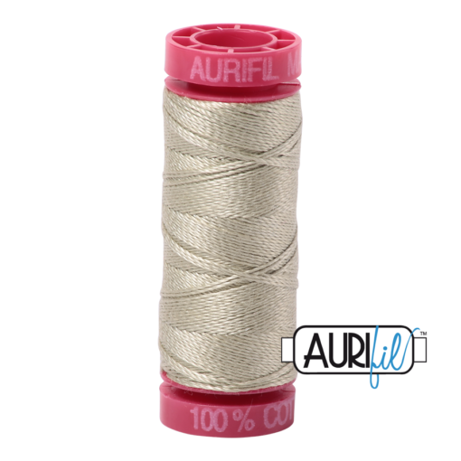 Aurifil 12 Light Military Green