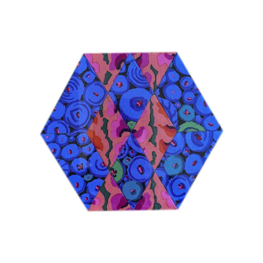 Argyle-Quilt Block Melissa Nr. 21