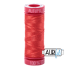 Aurifil 12wt Light Red Orange