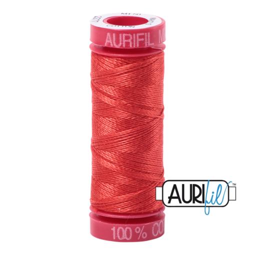 Aurifil 12wt Light Red Orange