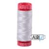 Aurifil 12wt Aluminium