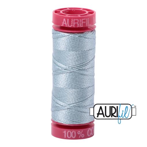 Aurifil 12wt Bright Grey Blue