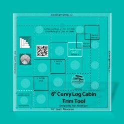Creative Grids Curvy Log Cabin trim Tool