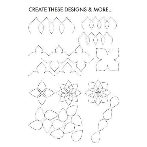 "Creative Grids Quilting Tool ""Taj"""