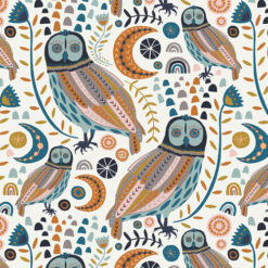 Art Gallery Fabrics Fusion Little Forester Sova