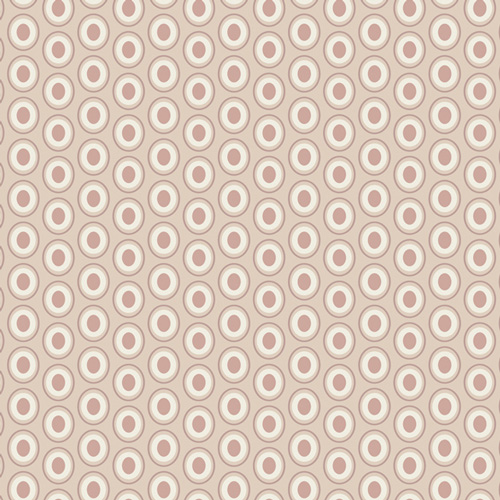 Art Gallery Fabrics Oval Elements Cappuccino