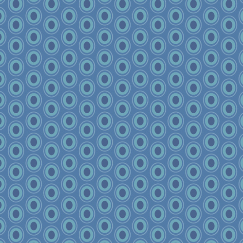 Art Gallery Fabrics Oval Elements Sapphire