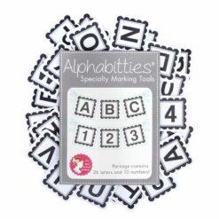 Alphabitties grau