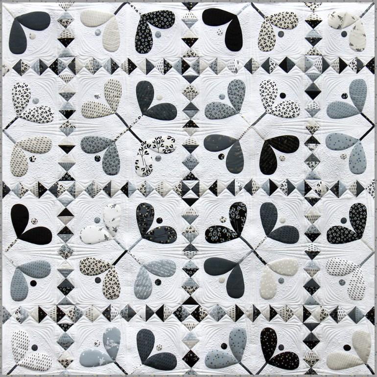 Mistletoe-Quilt von Brigitte Heitland