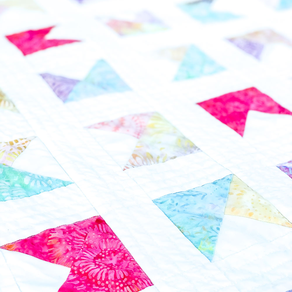 Little Flags Quilt für Helene